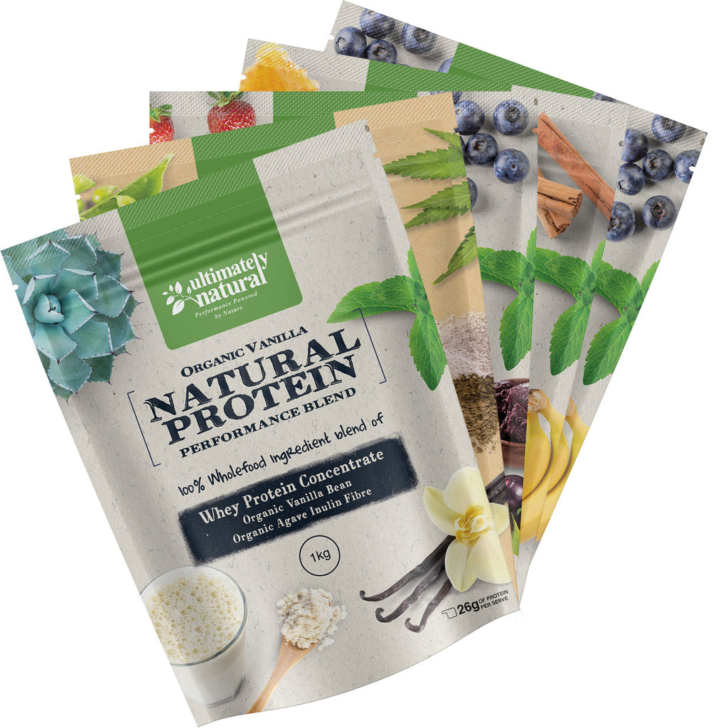 Create Your Own | 5 Flavour Sample Pack - Ultimately Natural