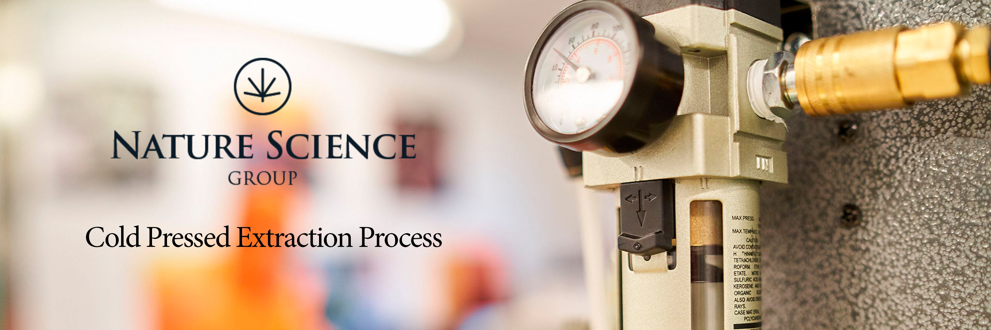 Nature Science Group - Cold Press Extraction Process