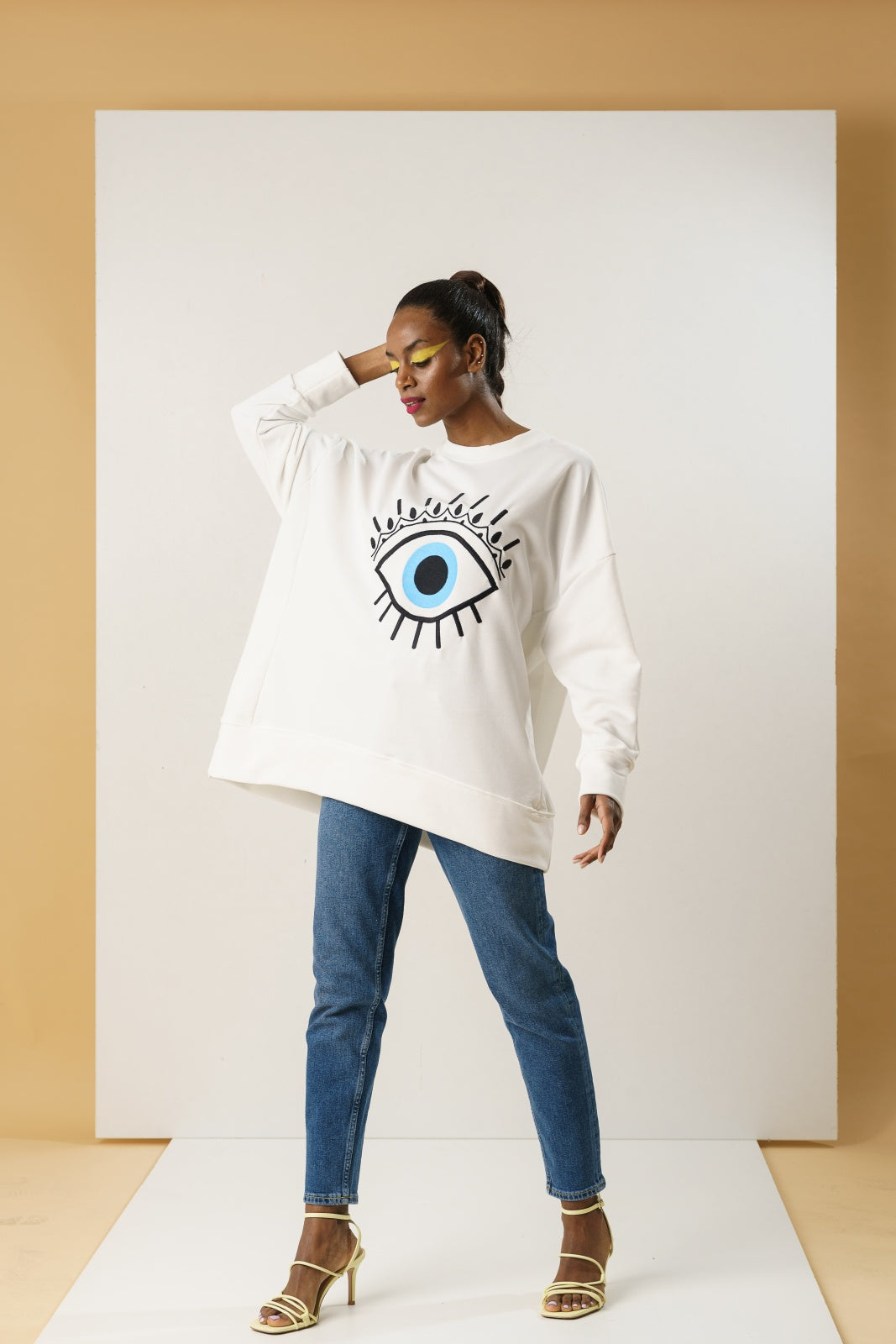 Oversized Eye Sweatshirt
