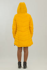 Load image into Gallery viewer, Hoodie Long Puffer Jacket