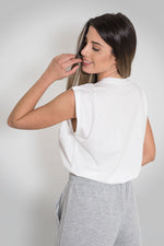 Load image into Gallery viewer, Sleeveless Top Pleats