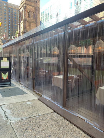 Tequilas restaurant Philadelphia outdoor dining table and chairs