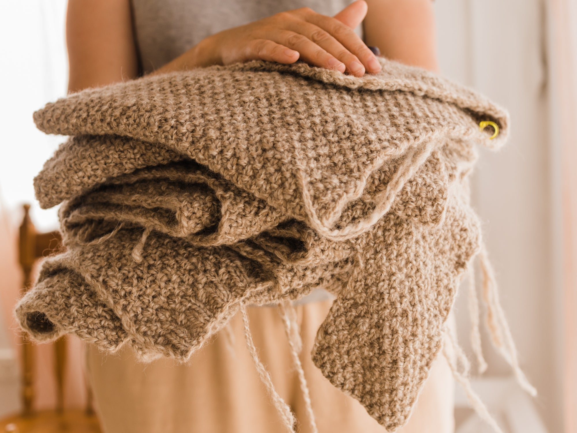 this darling home binding off knit