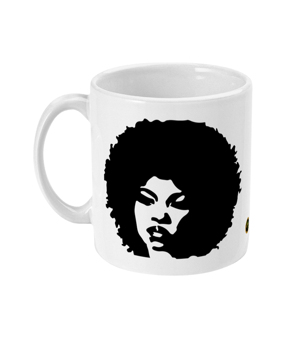 Black Girl Afro Cup