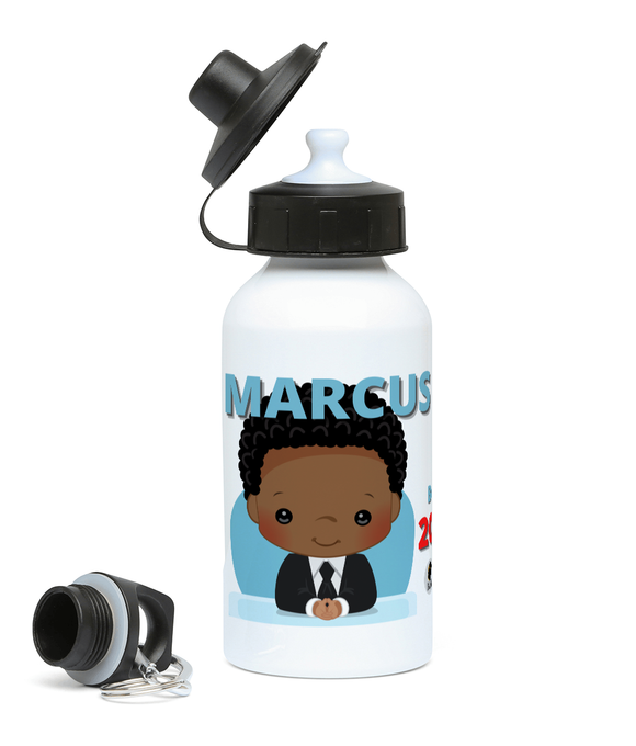 Personalised Sports Water Bottle - Boy Boss
