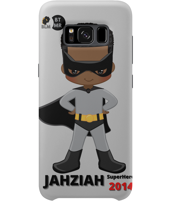 Samsung S8 Phone Case - Grey SuperHero