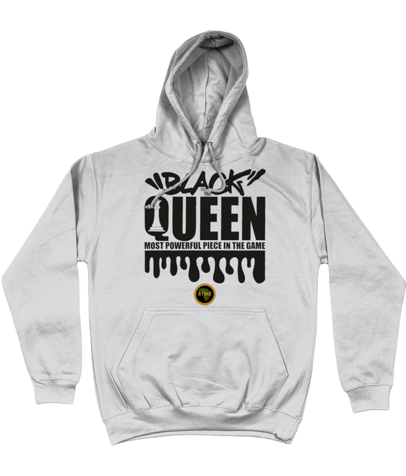 Hoodie | Women | Black Queen Chess B