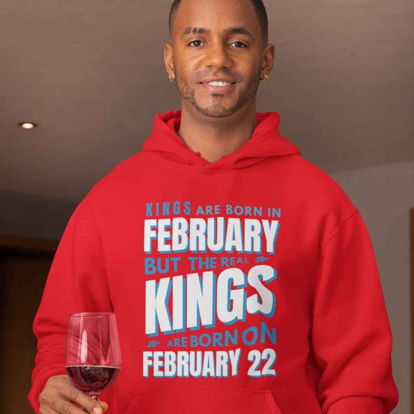 Personalised Hoodie |The Real Kings are Born....