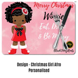 BlackLikeMe Christmas Placemats