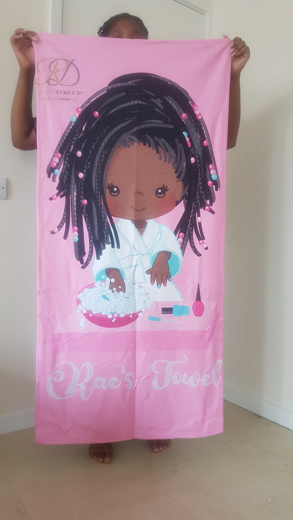 BlackLikeMe Character Towels