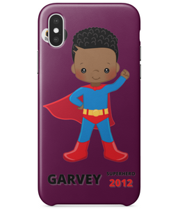 Personalised iPhone 3d Tough Cases - BLM SuperHero