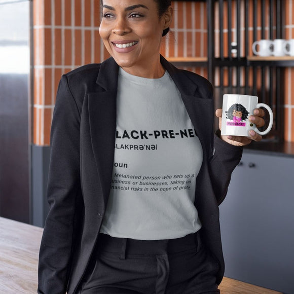 BlackPreneur T Shirt - Black