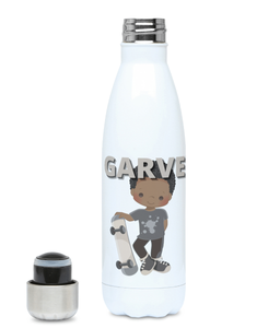 BLM Personalised Skater Boy Hydro Flask