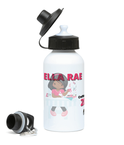 Girls Sports Water Bottle - Crafting