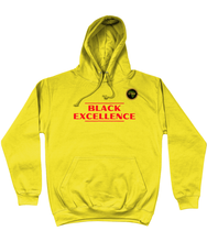 Load image into Gallery viewer, BTMR Black Excellence Hoodie (red)