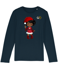 Load image into Gallery viewer, Long Sleeve T Shirt - Santa's Helper 1