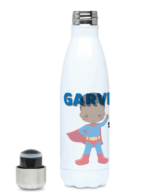 Personalised Hydro Flask - Blue Superhero