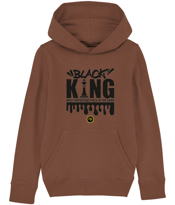 Hoodie | Boy | King Chess blk
