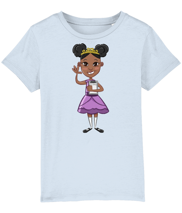 Princess Priye Crown Clipboard T Shirt