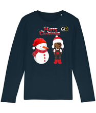 Load image into Gallery viewer, Long Sleeve T Shirt - Boy & Snowman