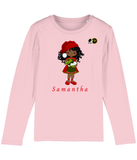 BLM Christmas Baker Girl Long Sleeved T Shirt
