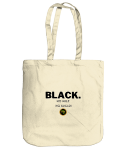 Premium Tote - Black, No Milk (b)