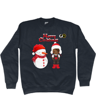 Load image into Gallery viewer, BLM Boy and Snowman Sweater