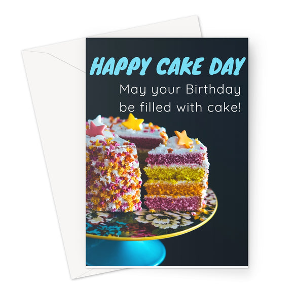 Card | Birthday | Happy Cake Day