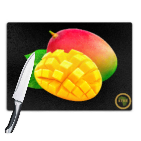 Glass Chopping Boards - Mangoes