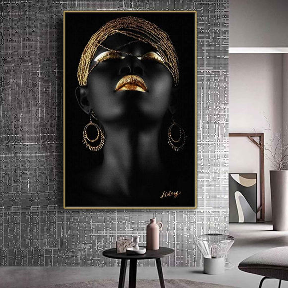 BTMR Home - Golden Hair Digital Canvas Print