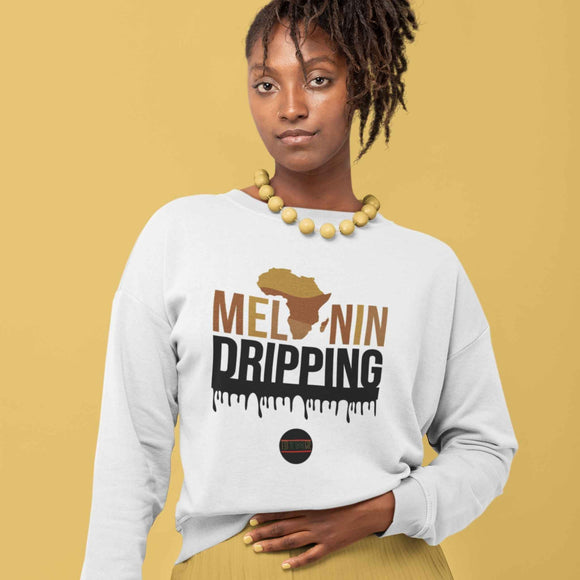 BTMR Melanin Dripping Unisex Sweater