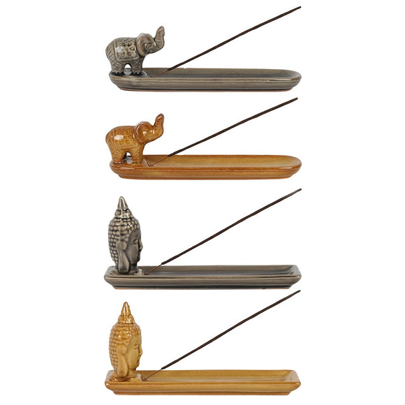 Home Aroma | Incense Holders | Buddha/Elephant