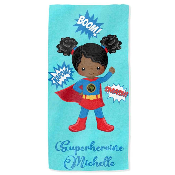 BlackLikeMe | Personalised Towels | Superheroines