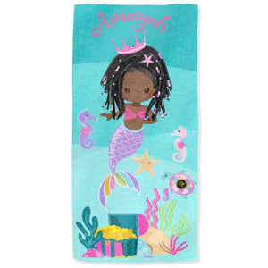 BlackLikeMe| Personalised Towels | Mermaids2