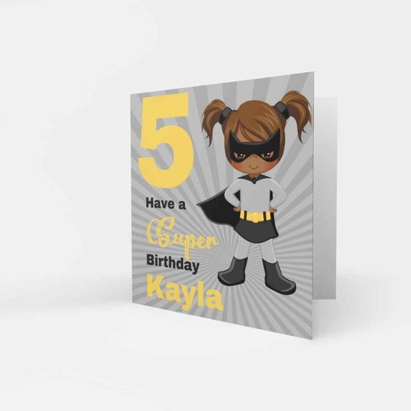 BLM Birthday Cards - Super Heroines