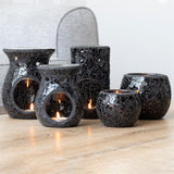 Crackle Glass Oil Burners