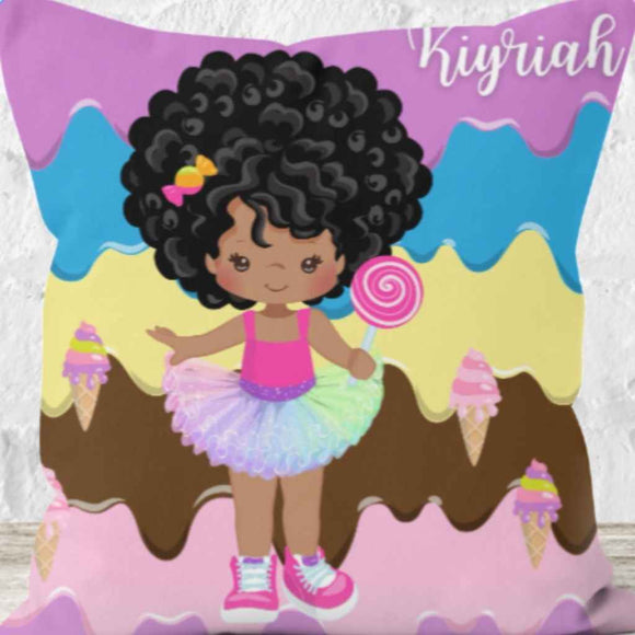Personalised Cushions | BLM Kids | Sweet Like Chocolate