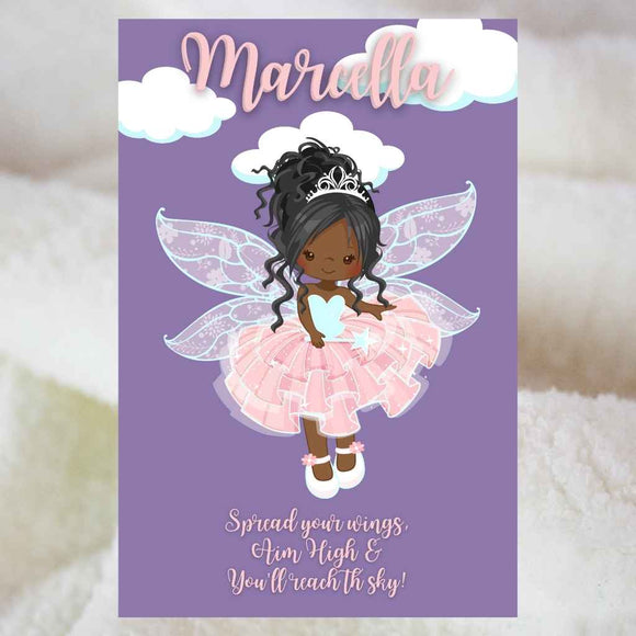 Personalised Blankets | Sherpa Fleece | BLM Kids Fairies
