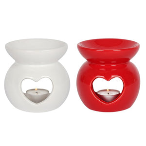 Wax Melt and Oil Burner | Fragrance | Heart 11cm