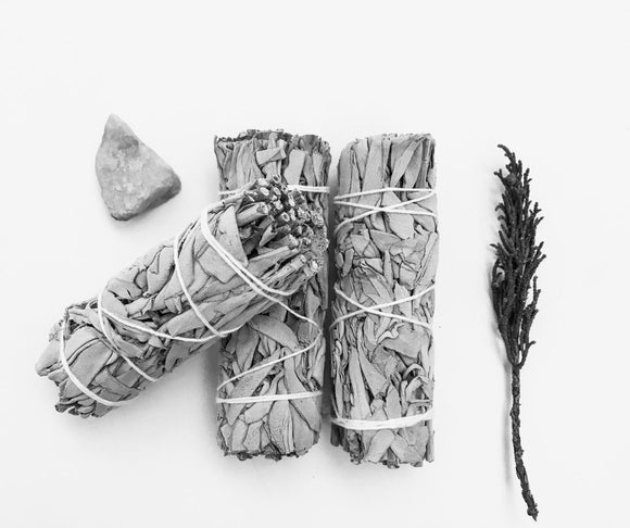 Smudge Sticks | 10cm | White Sage Combo