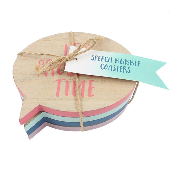 Coasters | Speech Bubbles
