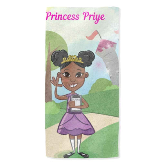 Princess Priye Personalised Towel