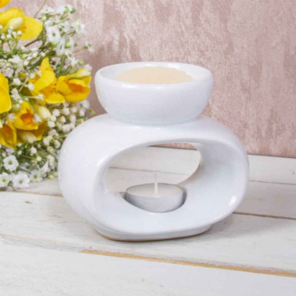 Wax Melts & Oil Burner | Contemporary | Orb
