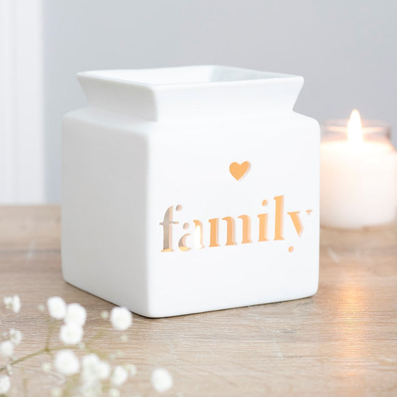 Aroma | Oil & Wax Melt Burners | 'Family' Cut-Out
