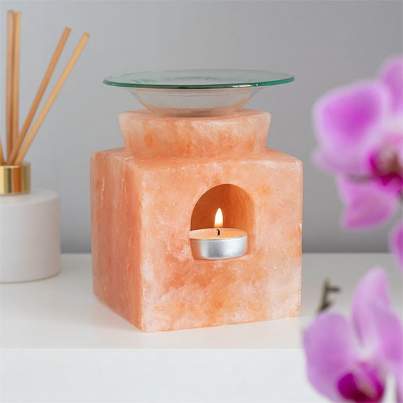 Himalayan Salt | Oil Burner | Cube