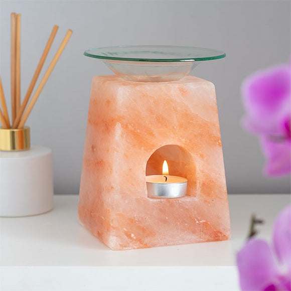 Himalayan Salt | Oil Burner | Pyramid