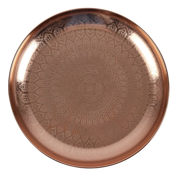 33CM KASBAH ETCHED TRAY
