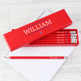 Personalised 12 pack HB Pencils - 3 designs