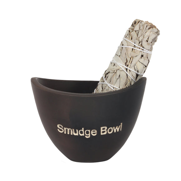 Black Smudge Bowl
