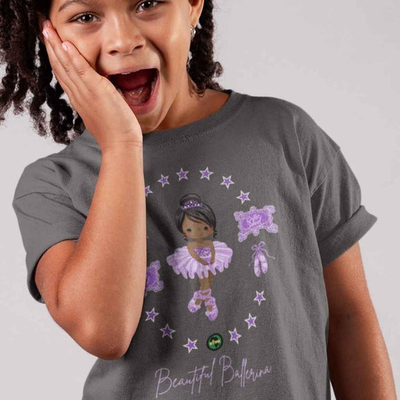 T Shirt | Girls | Beautiful Ballerina | BLM Kids